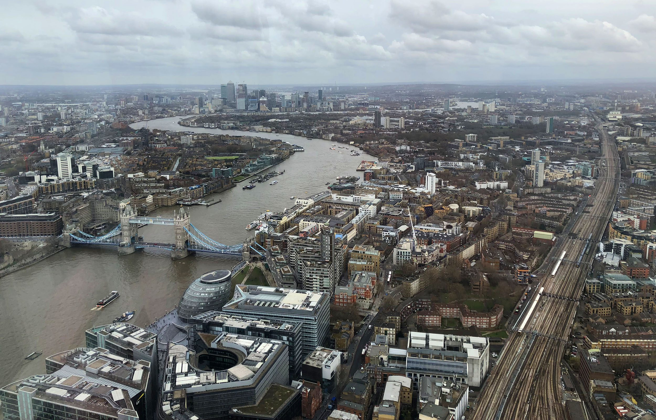 View From The Shard Londres